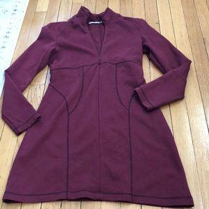 Gorgeous maroon athleta dress size SP and EUC